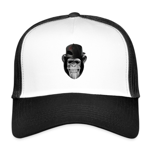 Logo Crazy Monkey - Trucker Cap