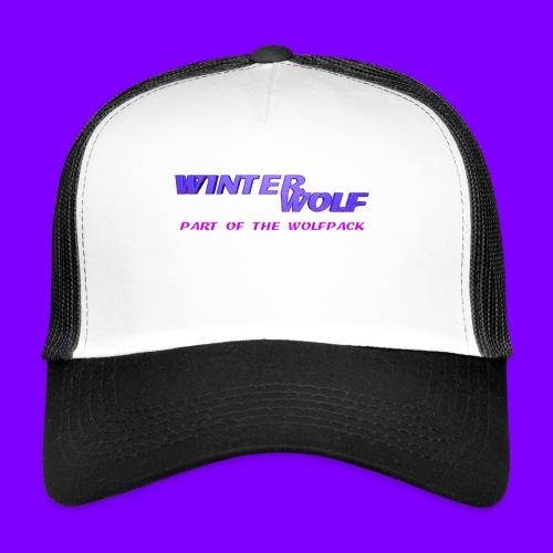 WINTERWOLF LOGO Part of The Wolfpack T-shirt - Trucker Cap