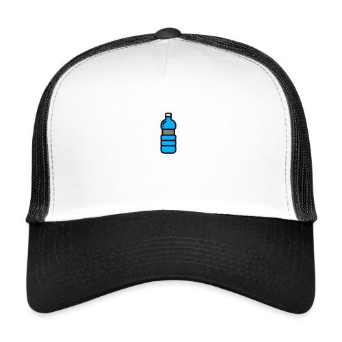 Bottlenet Tshirt Grijs - Trucker Cap