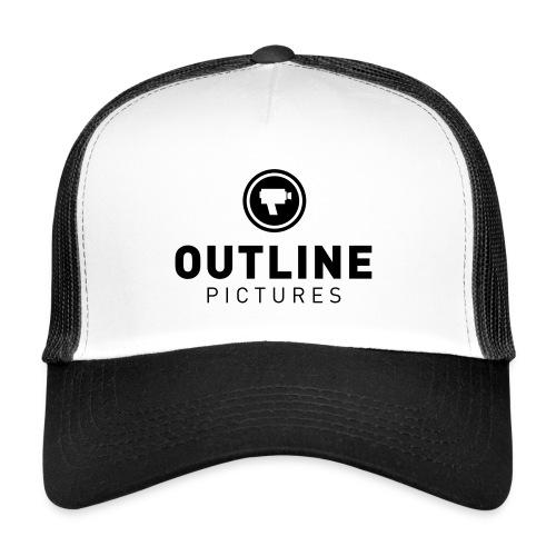 outline logo - Trucker Cap