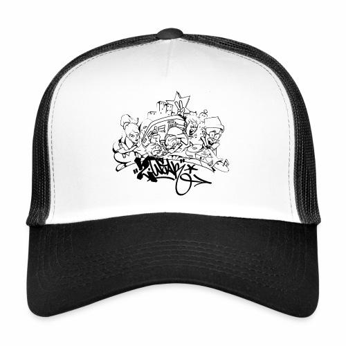 hip hop jam fresh86 ver01 - Trucker Cap