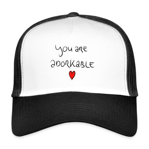 adorkable - Trucker Cap