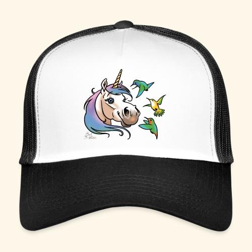 Einhorn und Kolibris - Trucker Cap