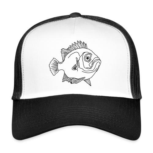 Fische Barsche Ozean Meerwasser Aquarium Angeln - Trucker Cap