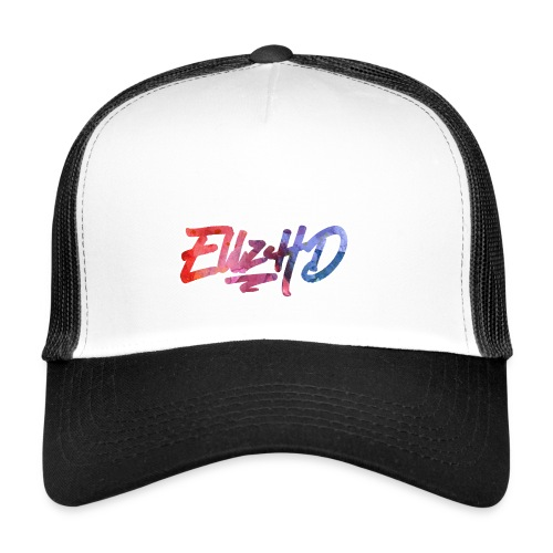 Tropical EllzHD Logo - Trucker Cap