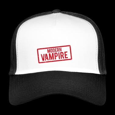 Fantasía / vampiro / Drácula: Vampiro Moderno - Gorra de camionero
