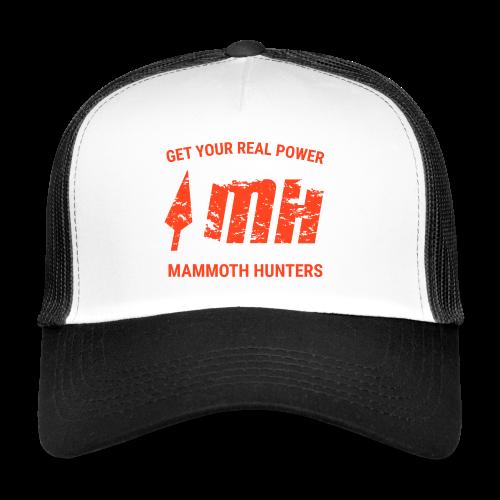 Mammoth Hunters / Naranja - Gorra de camionero