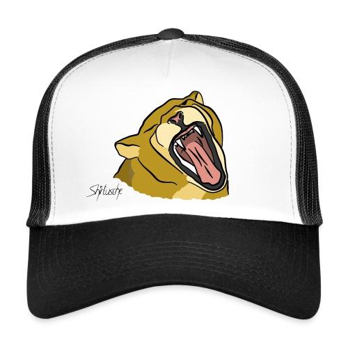 Gähnender / brüllender Löwe - Trucker Cap