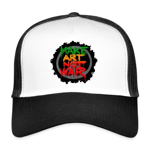 MAke Art Not War - Trucker Cap