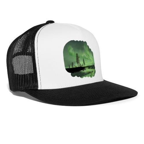 Réflexion des aurores boréales - Trucker Cap