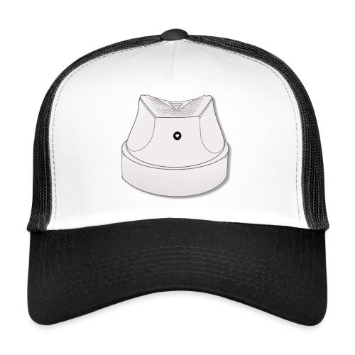 One Love Hvid Fat Cap - Trucker Cap