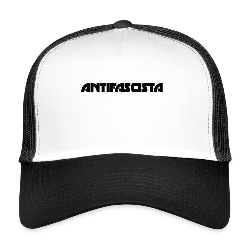 Antifascista svart - Trucker Cap