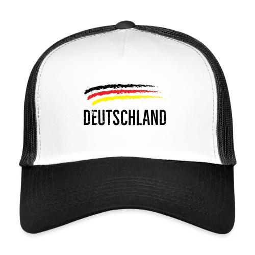 Deutschland, Flag of Germany - Trucker Cap