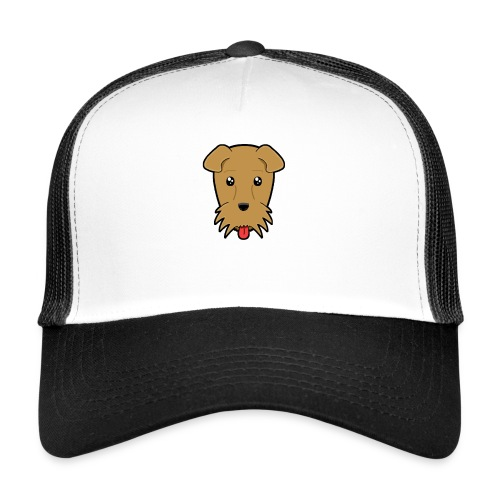 Shari the Airedale Terrier - Trucker Cap