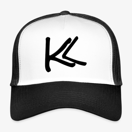 Kirbs vlogs logo black - Trucker Cap