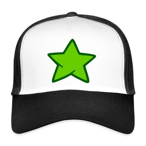 Estrella verde - Gorra de camionero