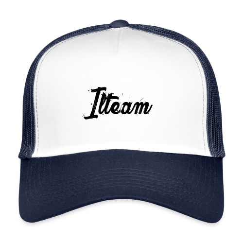 Ilteam Black and White - Trucker Cap