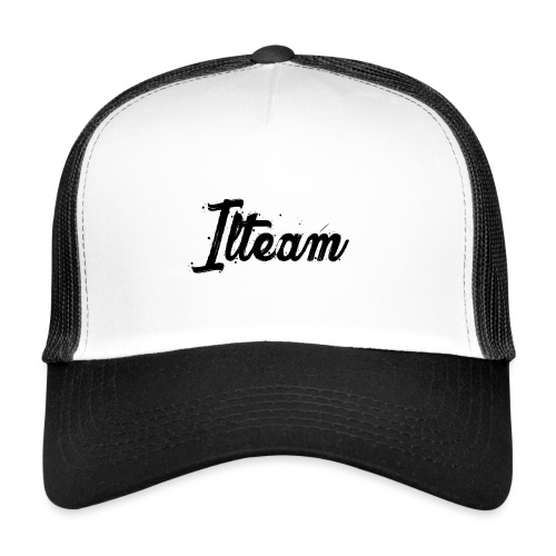 Ilteam Black and White - Trucker Cap