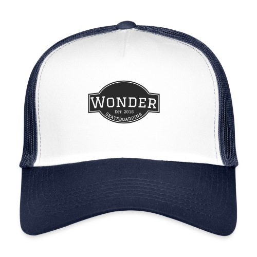Wonder T-shirt - ol' small logo - Trucker Cap