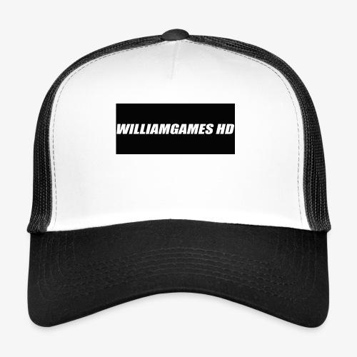 william shirt logo - Trucker Cap