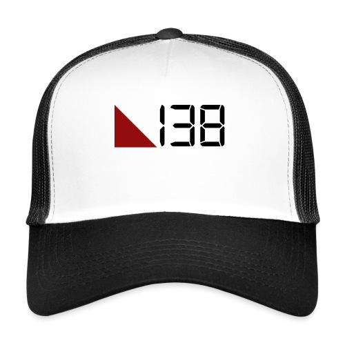138 (Black) - Trucker Cap