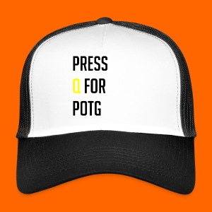 Press Q for play of the game - Trucker Cap