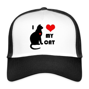 I love my cat - Trucker Cap
