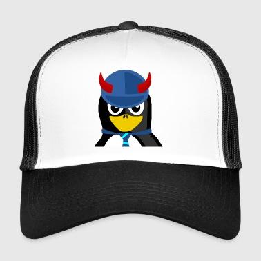 El pingüino malvado - Gorra de camionero