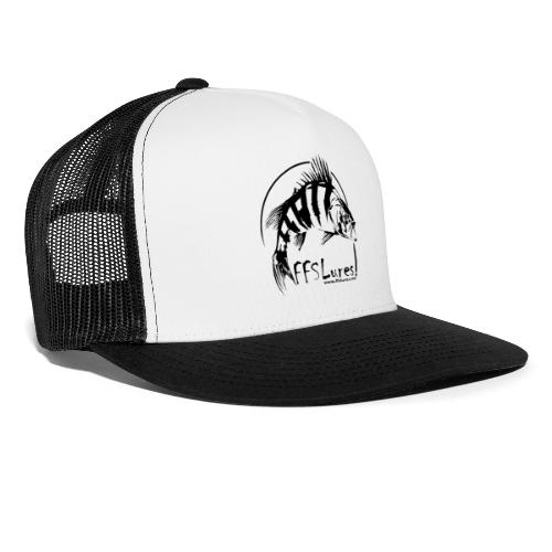 Hats Black Logo - Trucker Cap