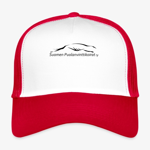 SUP logo musta - Trucker Cap