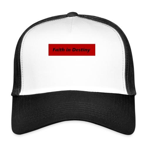 La fe en el destino primera colección - Gorra de camionero