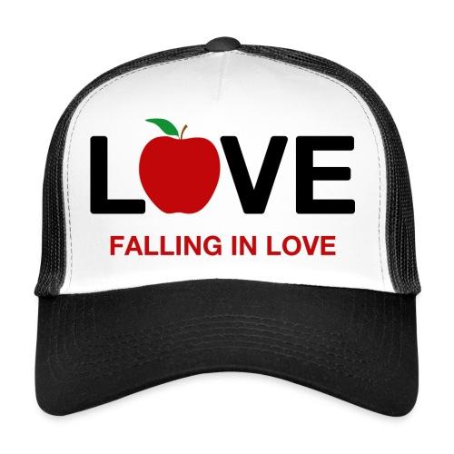 Falling in Love - Black - Trucker Cap
