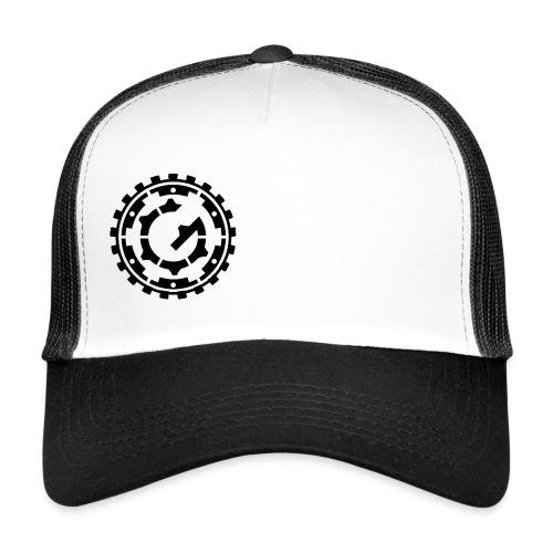 Steffen G. Logo schwarz - Trucker Cap