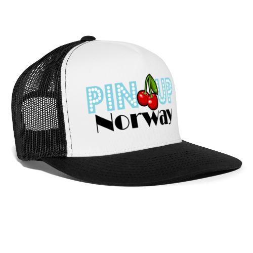 Pinup Norway blå - Trucker Cap