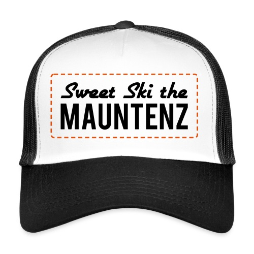 Sweet Ski The Mauntenz - Trucker Cap