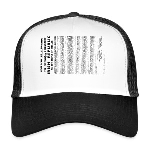 Irish proclamation - Trucker Cap