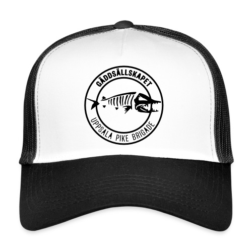 GSUPB - svart - 50mm - Trucker Cap