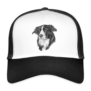 border collie S - Trucker Cap