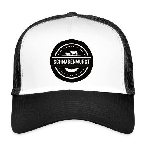 Logo groß black white eps transparenter HG png - Trucker Cap
