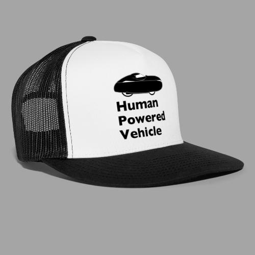 Quest Human Powered Vehicle 2 black - Trucker Cap
