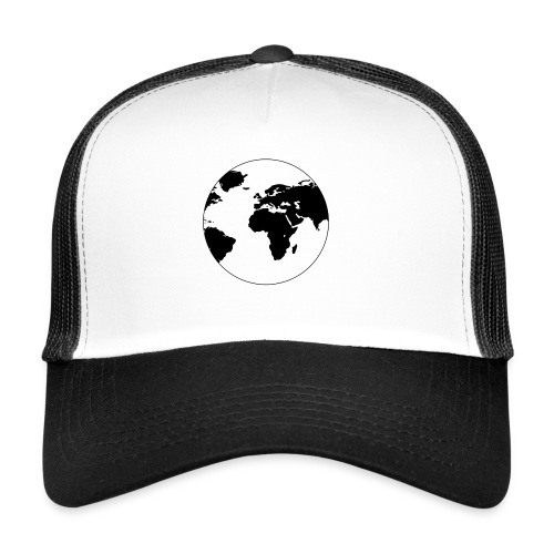 Cooles Design Erde - Trucker Cap