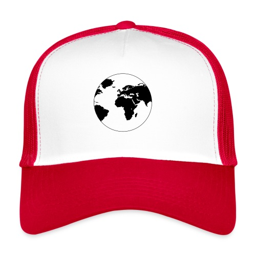 Cooles Design Erde - Trucker Cap