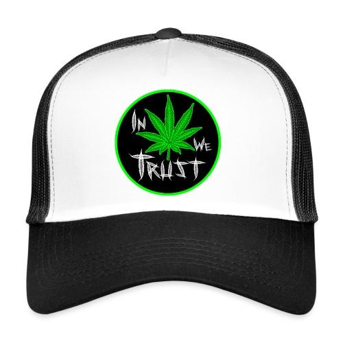 In weed we trust - Gorra de camionero