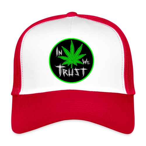 In weed we trust - Gorra de camionero