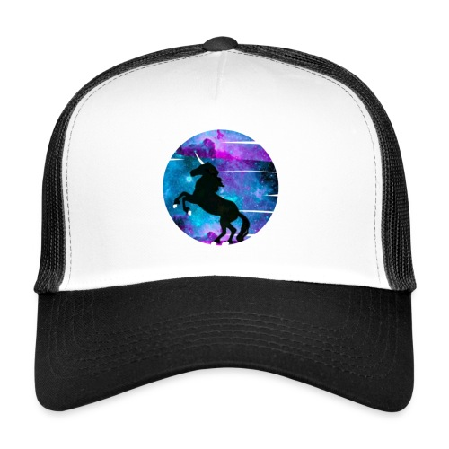 Krisii.B Black Unicorn - Trucker Cap