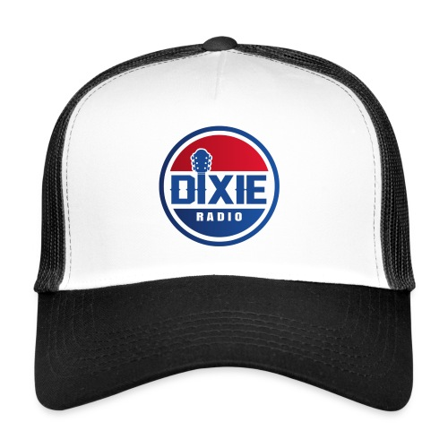 Dixie Radio Main Logo - Trucker Cap