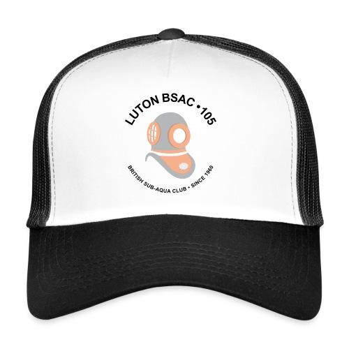 Luton BSAC Logo (Black Text) - Trucker Cap