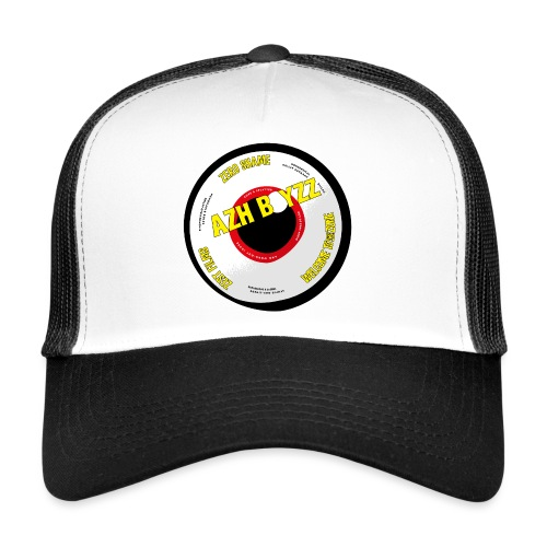 A&B • Eyeball with statement (1 print: front) - Trucker Cap