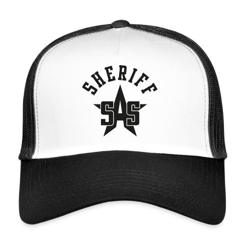 sas sheriff logo los print orig - Trucker Cap