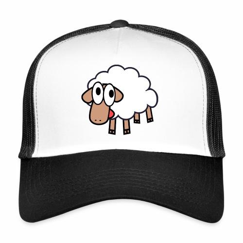 Sheep Cartoon - Trucker Cap